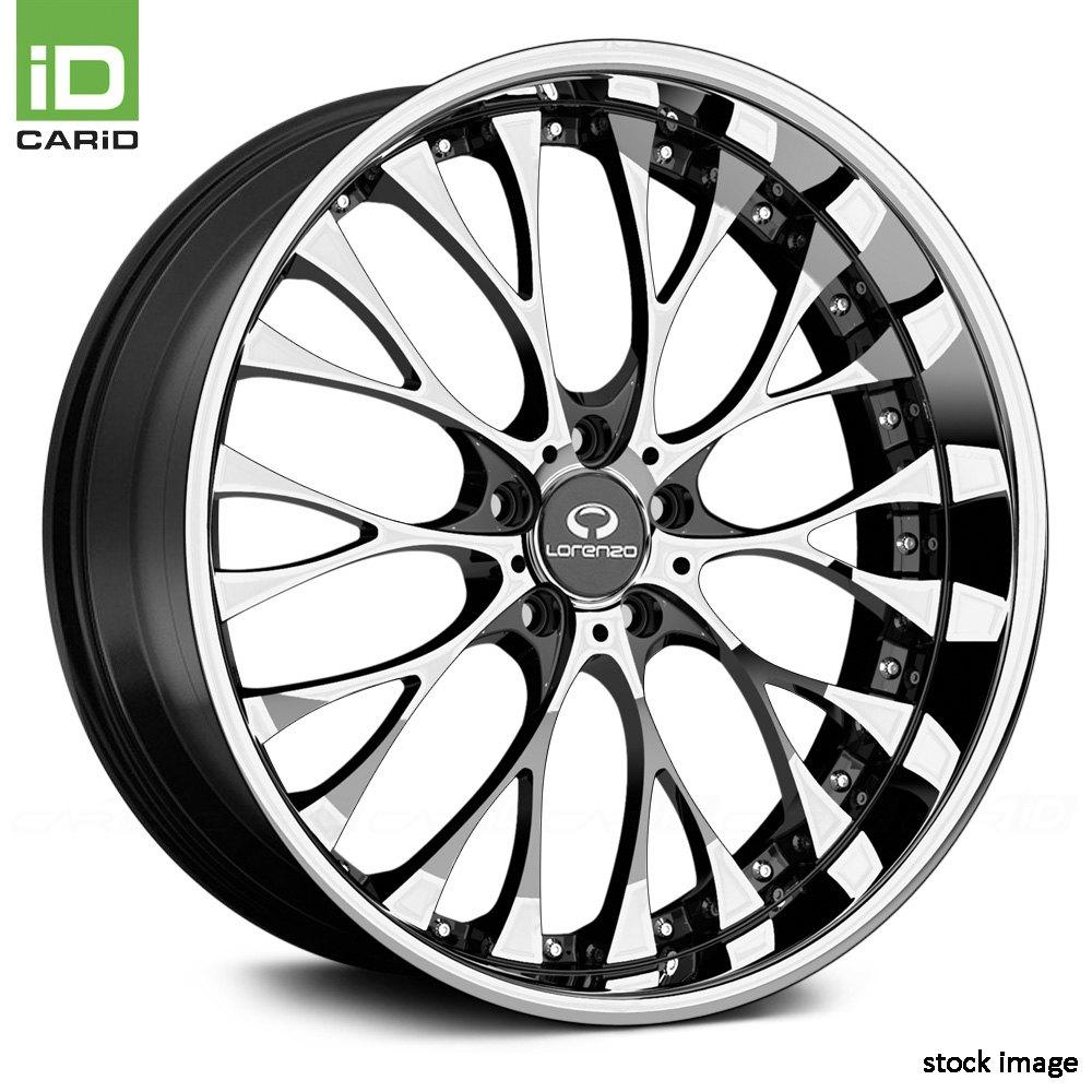 20x10 Lorenzo Wheel 40 5x114 3 72 6 Wl27 Rim Chrome W