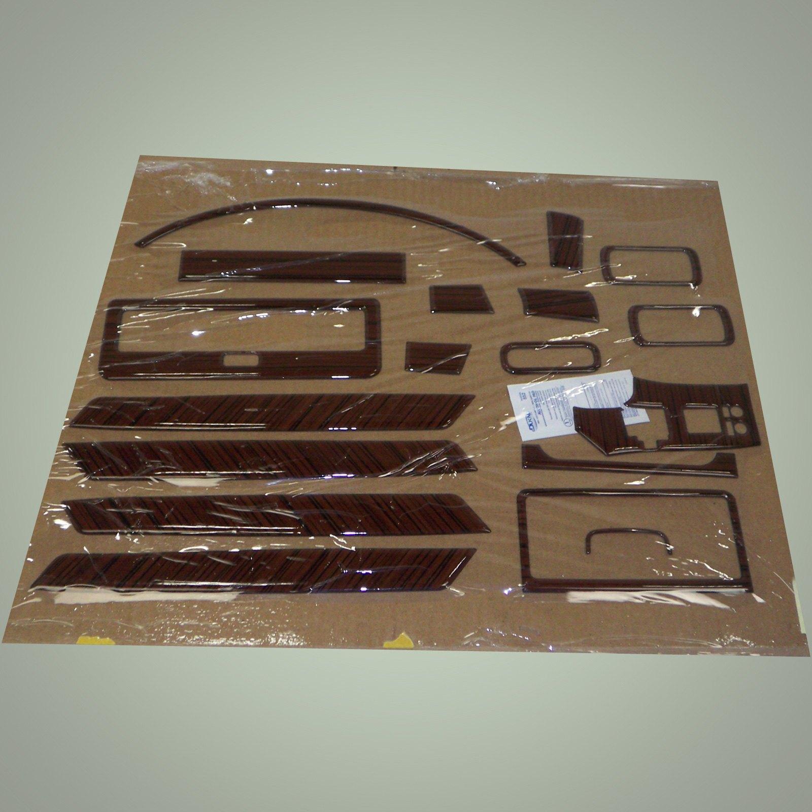 Remin exterior materials - African Zebra Wood Dash Kit 18 Pcs Not Full By Remin Fits Infiniti Fx45 06 08