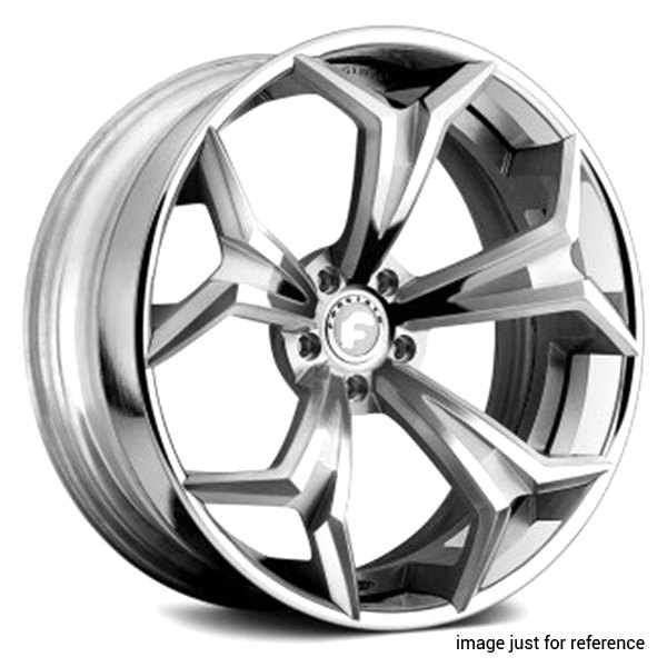 FORGIATO Chrome Staggered Wheels 60x60 60x6060 60 260 60x608 Bolt Mesmerizing 5x108 Bolt Pattern