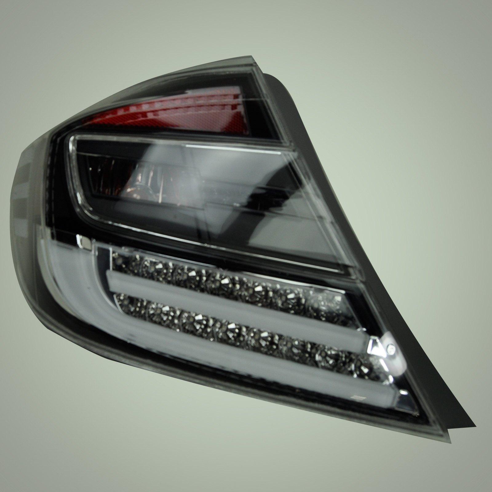 New 2012 Honda Civic 4 Dr Black Led Tail Lights By Anzo Ebay
