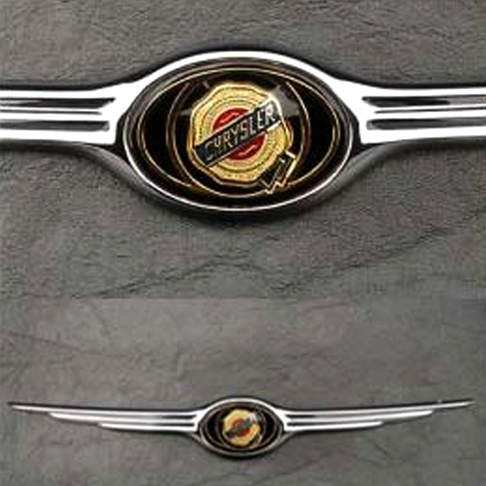 Large Wing Bar Chrysler Emblem For Chrysler 300/300C 2005