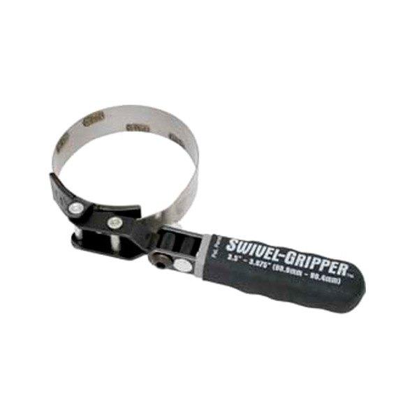 lisle 57030 swivel grip oil filter wrench 3 5 3 875 lisle automotive