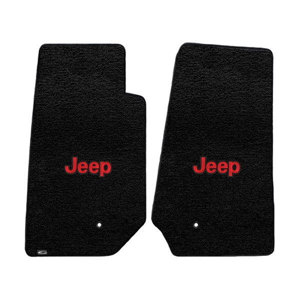 Red And Black Floor Mats