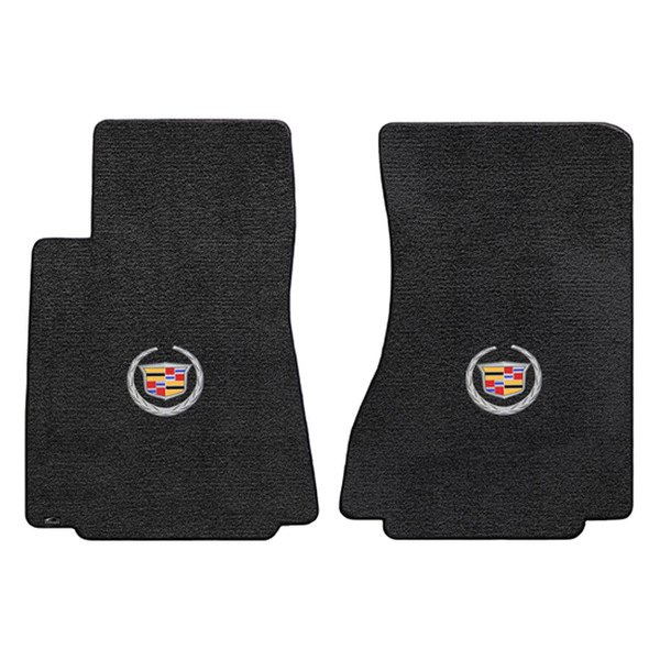 Cadillac Accessories Catalog: Cadillac CTS 2008 Ultimat™ Custom Fit Floor Mats With Cadillac Logo