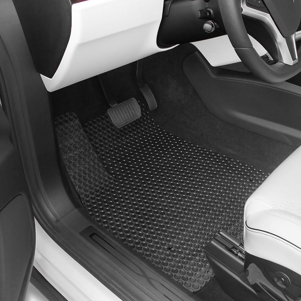 lloyd tesla model x 2016 rubbertite custom fit all weather protection floor mats. Black Bedroom Furniture Sets. Home Design Ideas
