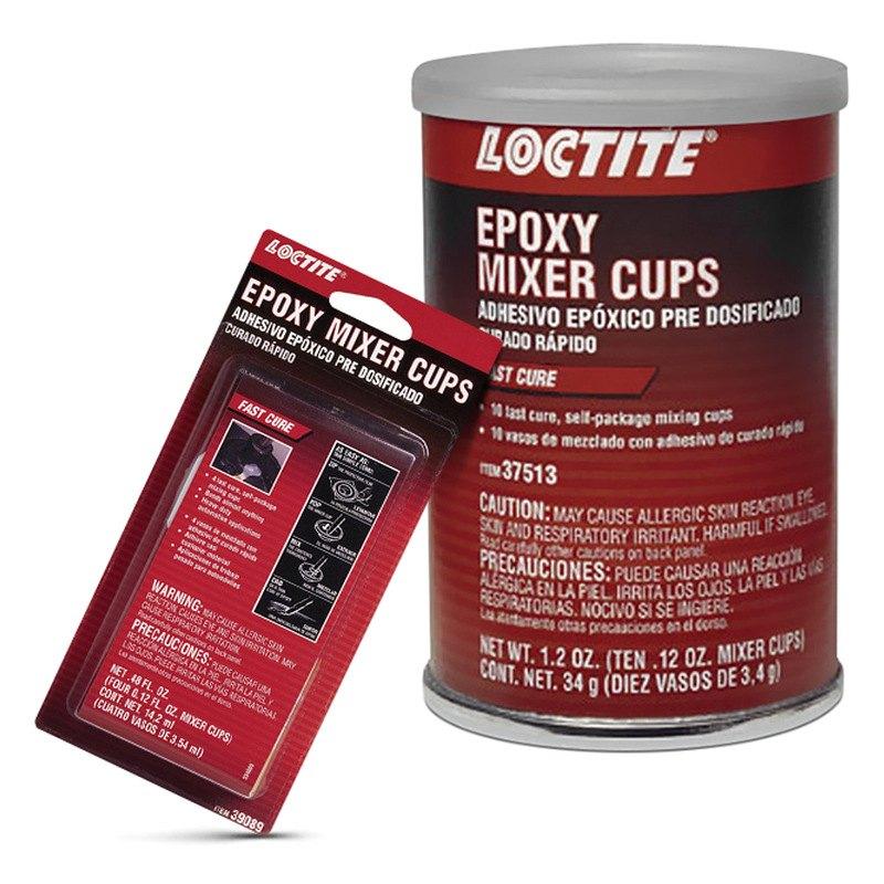 Fast Cure Epoxy : Loctite fast cure epoxy mixer cups