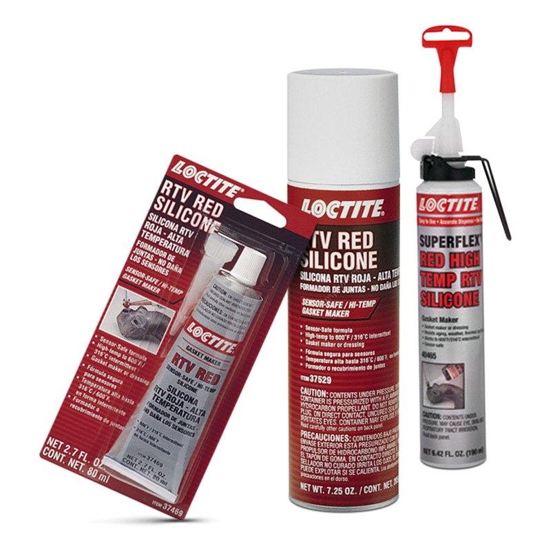 Loctite® - RTV Sensor Safe High-Temp Red Silicone Gasket Maker