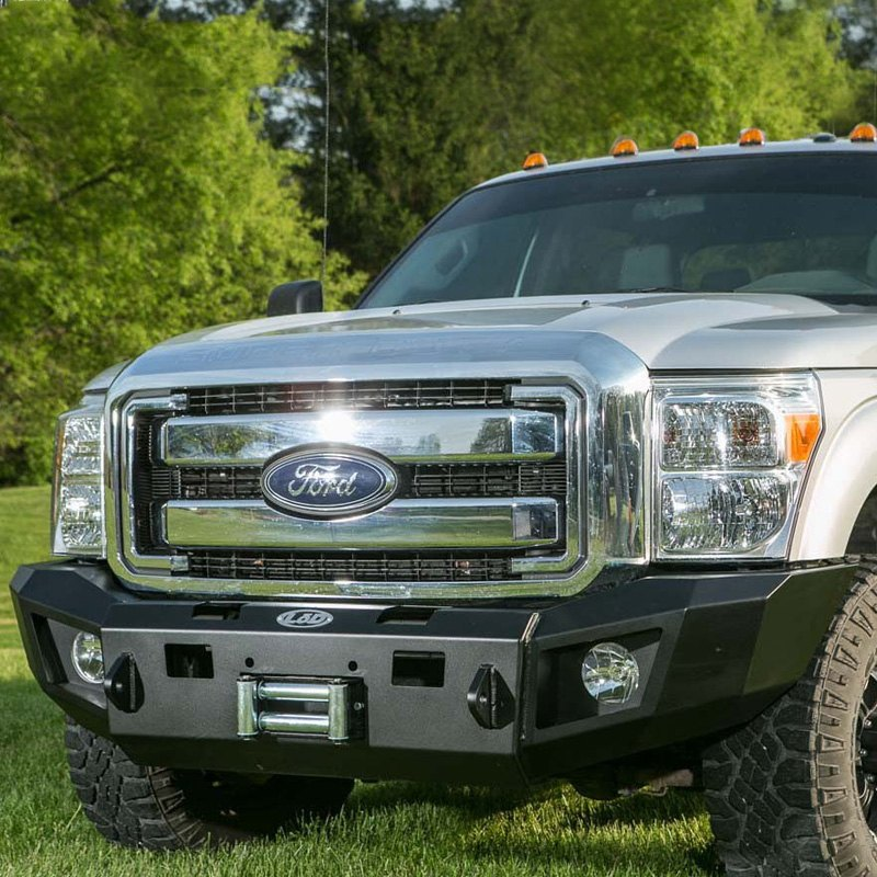Heavy Front Bumper : Lod offroad ford f signature series heavy