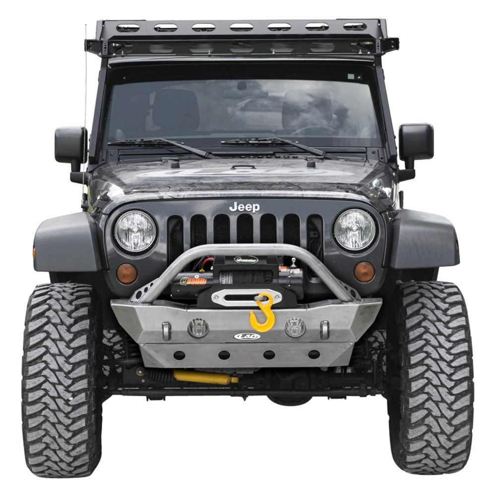 Lod offroad jeep wrangler shorty front bumper