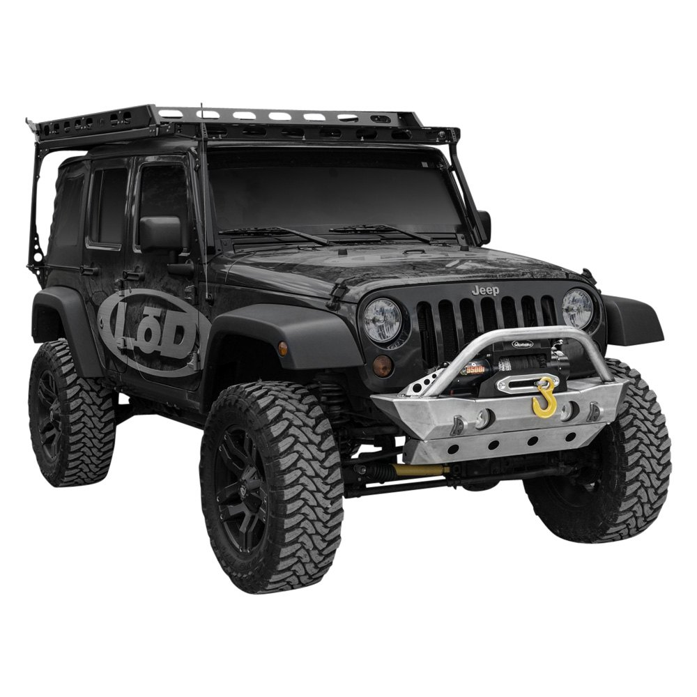Jeep Wrangler 2016 Shorty Front Bumper