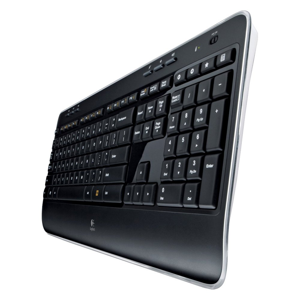 logitech 920002553 mk520 wireless combo with keyboard and mouse. Black Bedroom Furniture Sets. Home Design Ideas