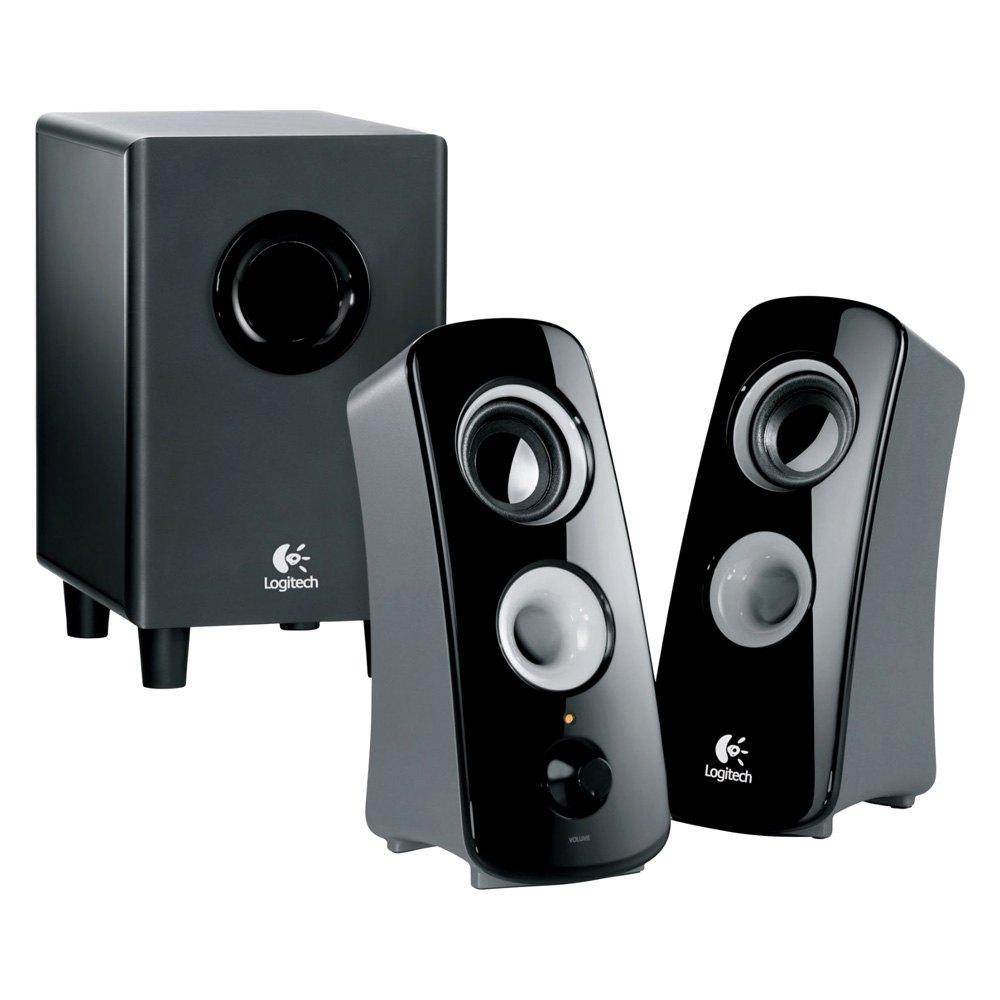 logitech 980000354 z323 speaker system. Black Bedroom Furniture Sets. Home Design Ideas