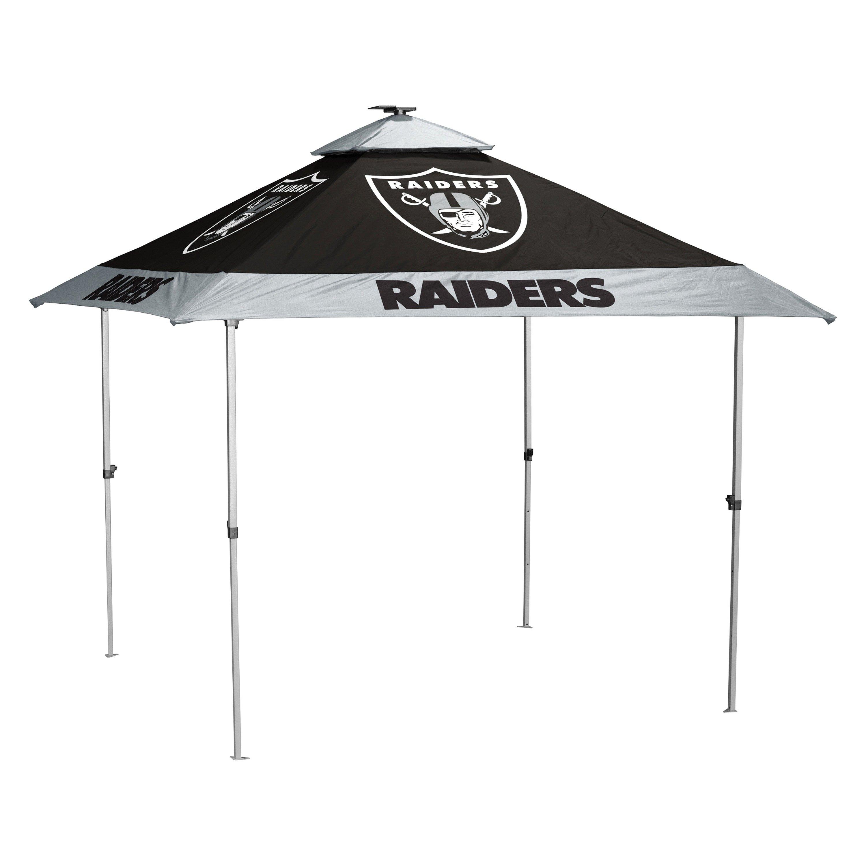 Logo Brands® - NFL Oakland Raiders Pagoda Canopy  sc 1 st  CARiD.com & Logo Brands® 623-37P - NFL Oakland Raiders Pagoda Canopy
