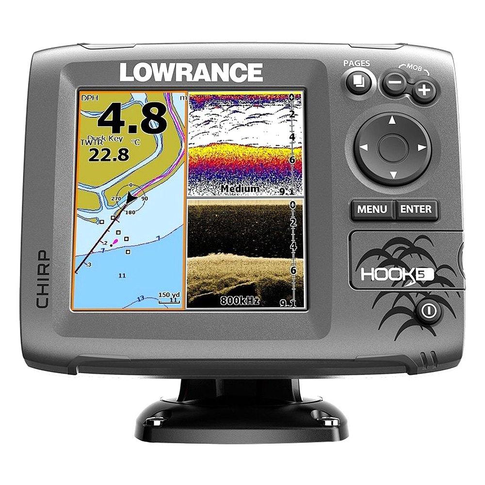 Lowrance 000 12657 001 hook 5 5 fishfinder for Lowrance fish locators