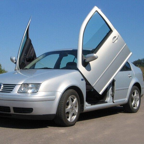 lsd doors volkswagen jetta  lambo vertical doors kit