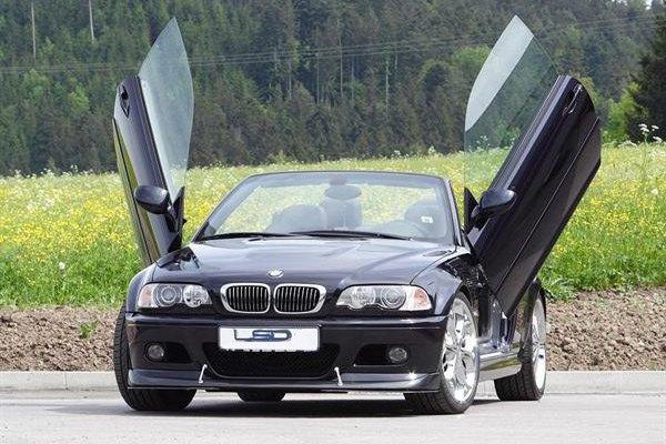 LSD Doors® - BMW 3-Series 2007 Lambo Vertical Doors Kit