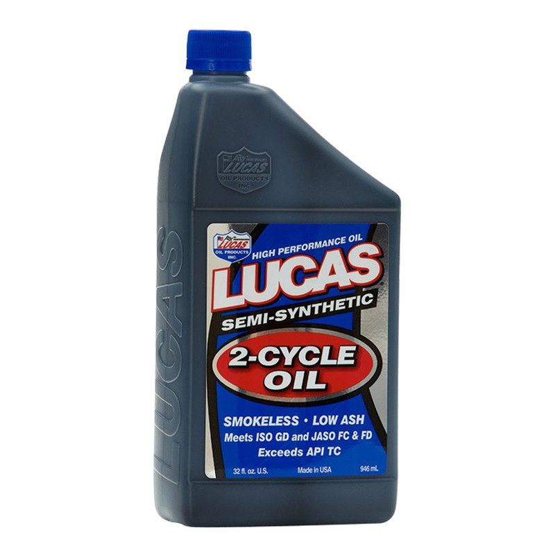 Lucas Oil 10110 Semi Synthetic 2 Cycle Oil 1 Quart