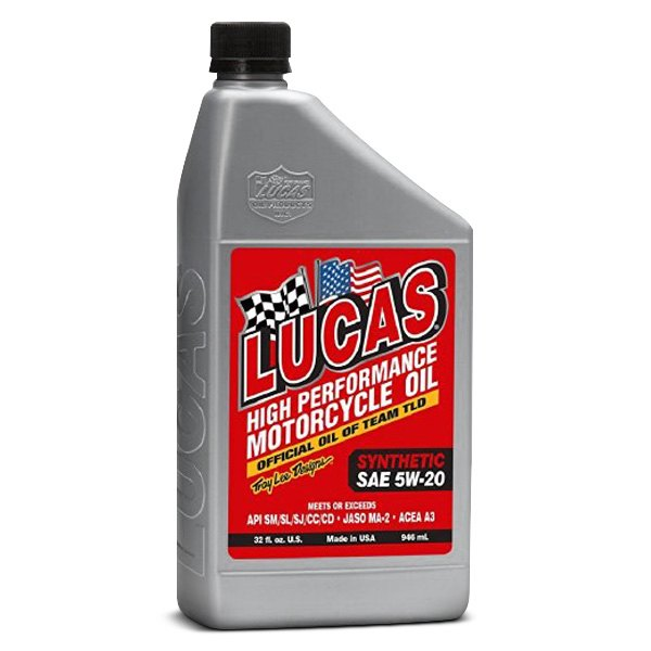 Lucas Oil 10704 Sae 5 20w High Performance Synthetic