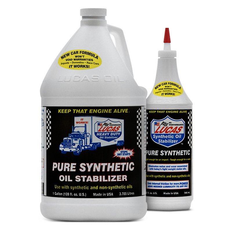 Lucas Oil Pure Synthetic Oil Stabilizer
