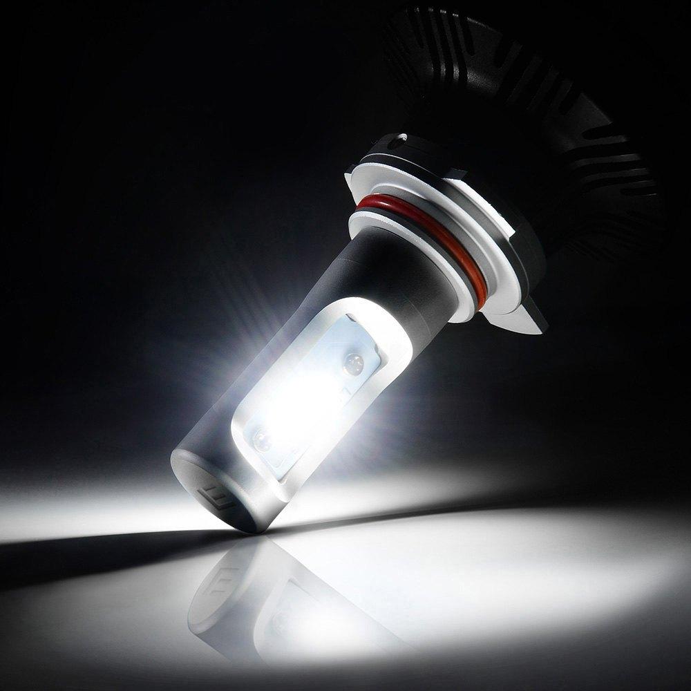 lumen nissan maxima with factory halogen headlights 2004 2007 g7 led headlight conversion kit. Black Bedroom Furniture Sets. Home Design Ideas