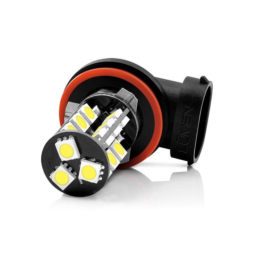 lumen h8 h9 led bulbs. Black Bedroom Furniture Sets. Home Design Ideas