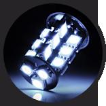 Lumen - White Exterior LED Bulb