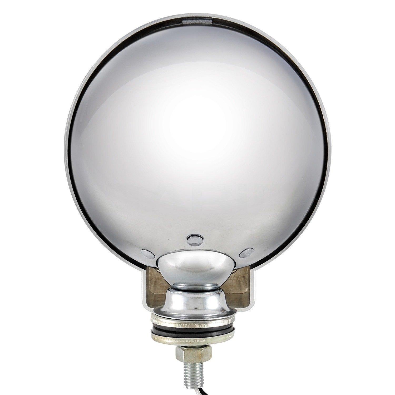 Lumen 6 super 4x4 round fog beam lights 6 super 4x4 round chrome fog beam smoke lightslumen arubaitofo Images