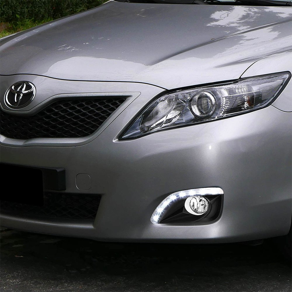 lumen toyota camry 2010 2011 factory style fog lights. Black Bedroom Furniture Sets. Home Design Ideas