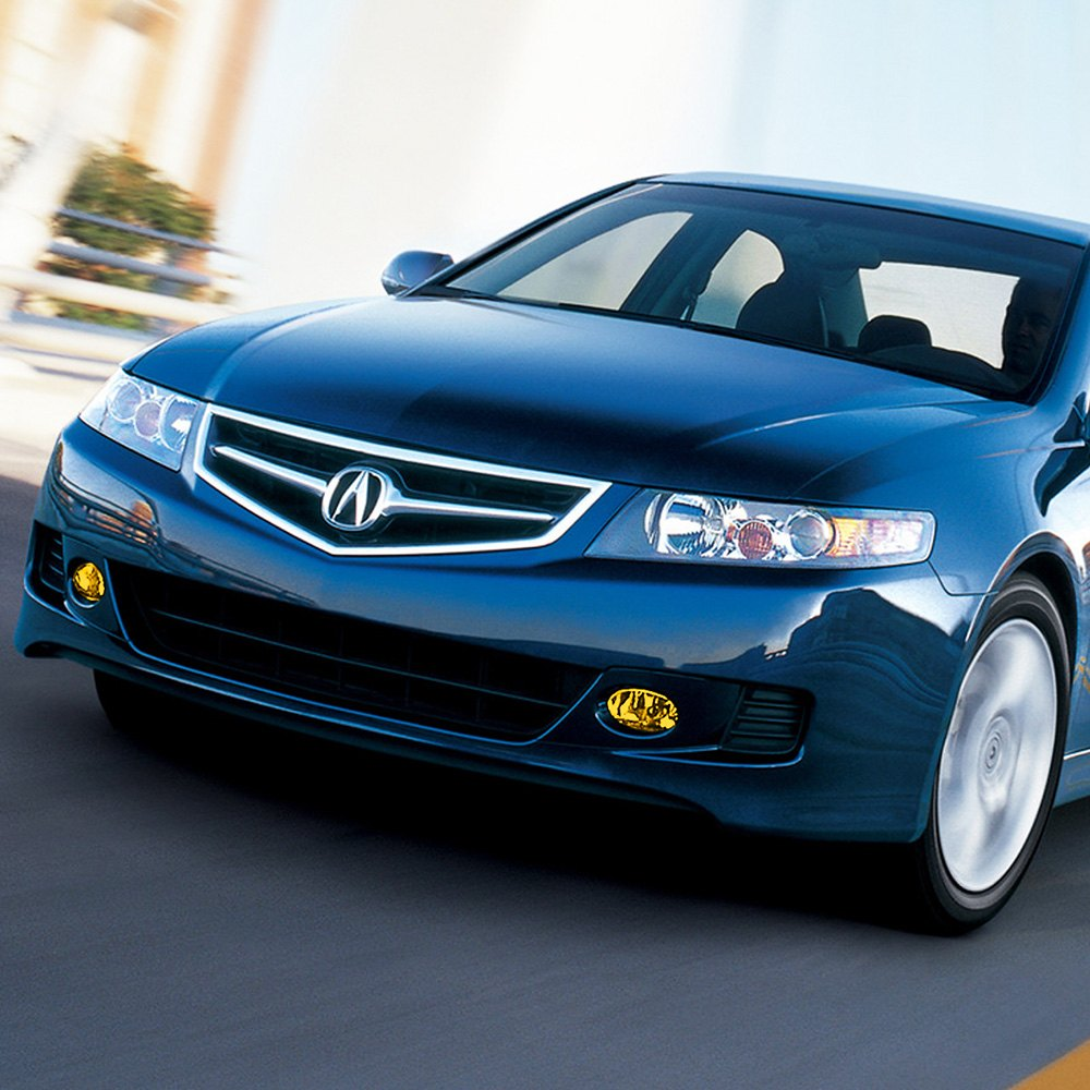 Acura TSX With Factory Installed Fog Lights 2006