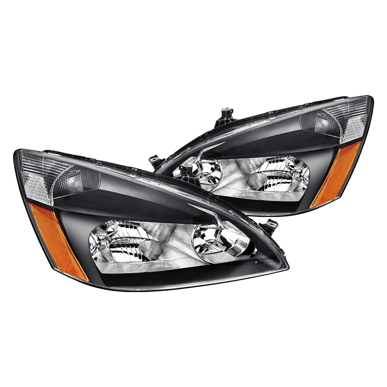 Lumen® - Black Euro Headlights