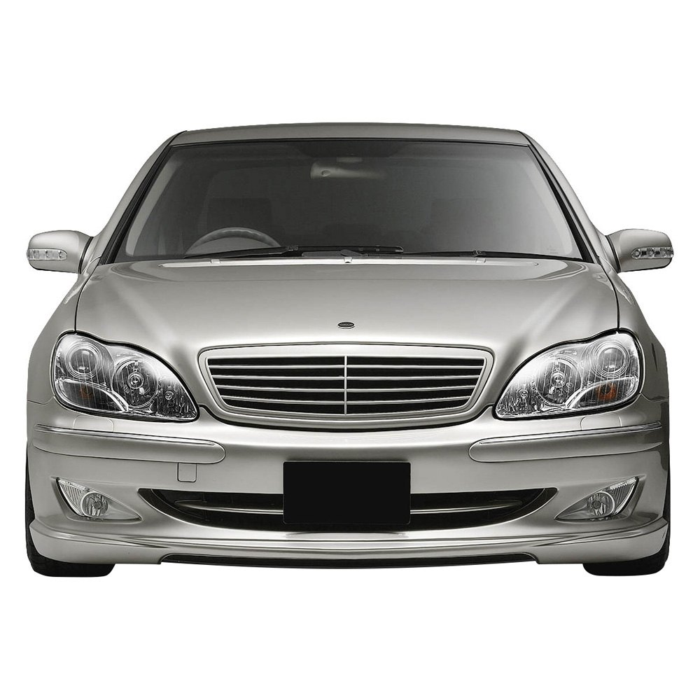 Lumen Mercedes S Class W220 Body Code 2001 Chrome Projector Headlights
