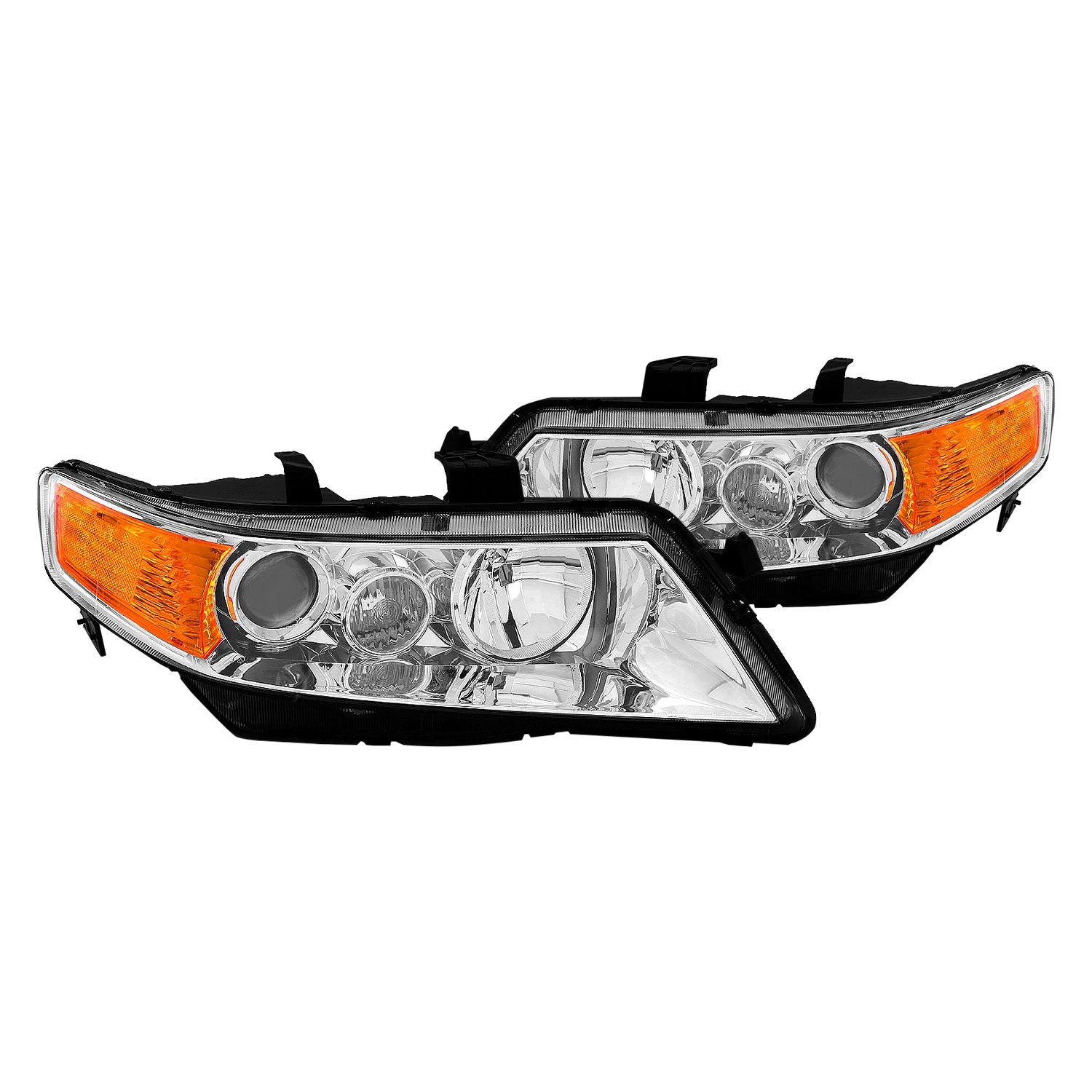 Acura TSX 2004 Chrome Factory Style Projector