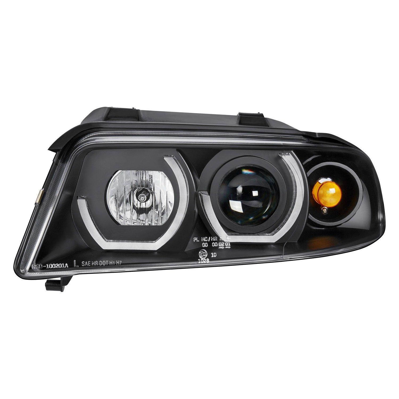 2001 Audi Tt Headlights: Audi A4 1996-2001 Black Projector Headlights With