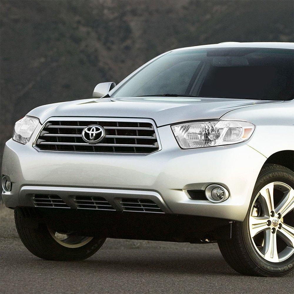 Toyota Highlander Reviews: Toyota Highlander 2008 Chrome Factory Style