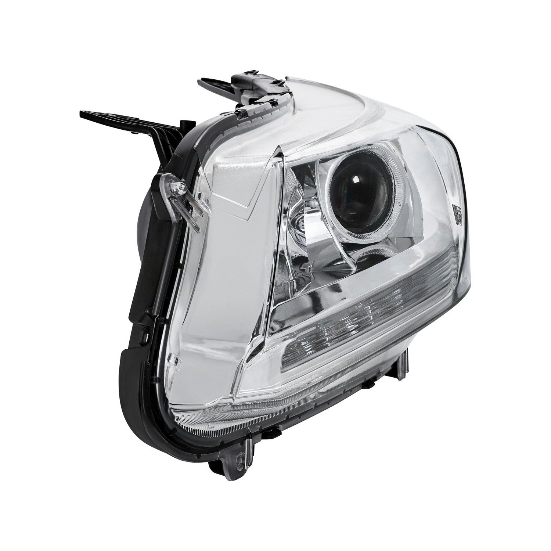 lumen honda accord sedan 2014 2015 chrome projector headlights with led drl. Black Bedroom Furniture Sets. Home Design Ideas