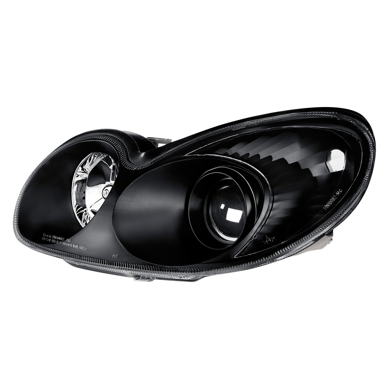 For Hyundai Sonata 02-05 Lumen Black//Smoke Factory Style Projector Headlights