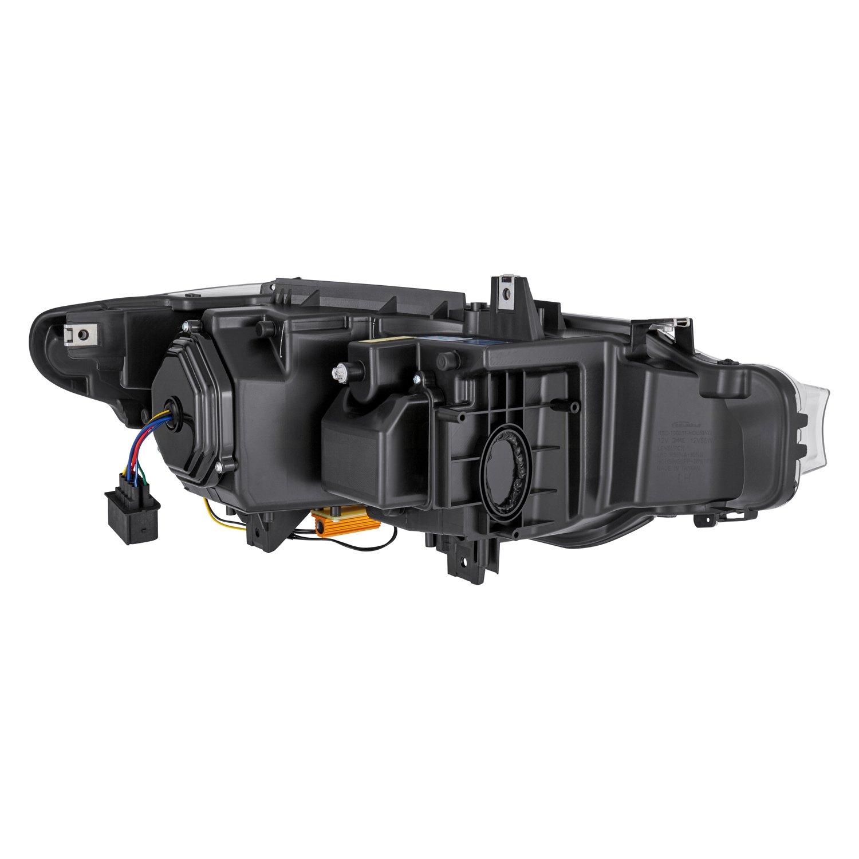 Lumen® - Chrome DRL Bar Projector Headlights with LED Turn Signal