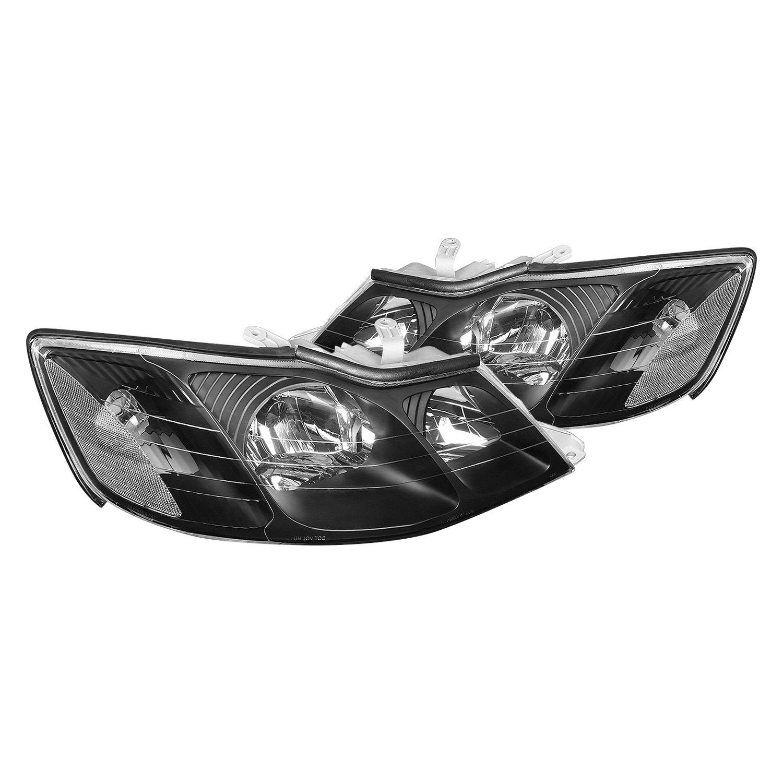 lumen toyota avalon 2000 black factory style headlights lumen black factory style headlights