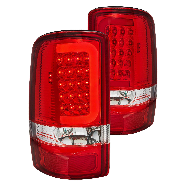 lightslumen chrome fiber optic led tail lightslumen chrome red smoke fiber optic led tail lightslumen black fiber optic led tail lights with