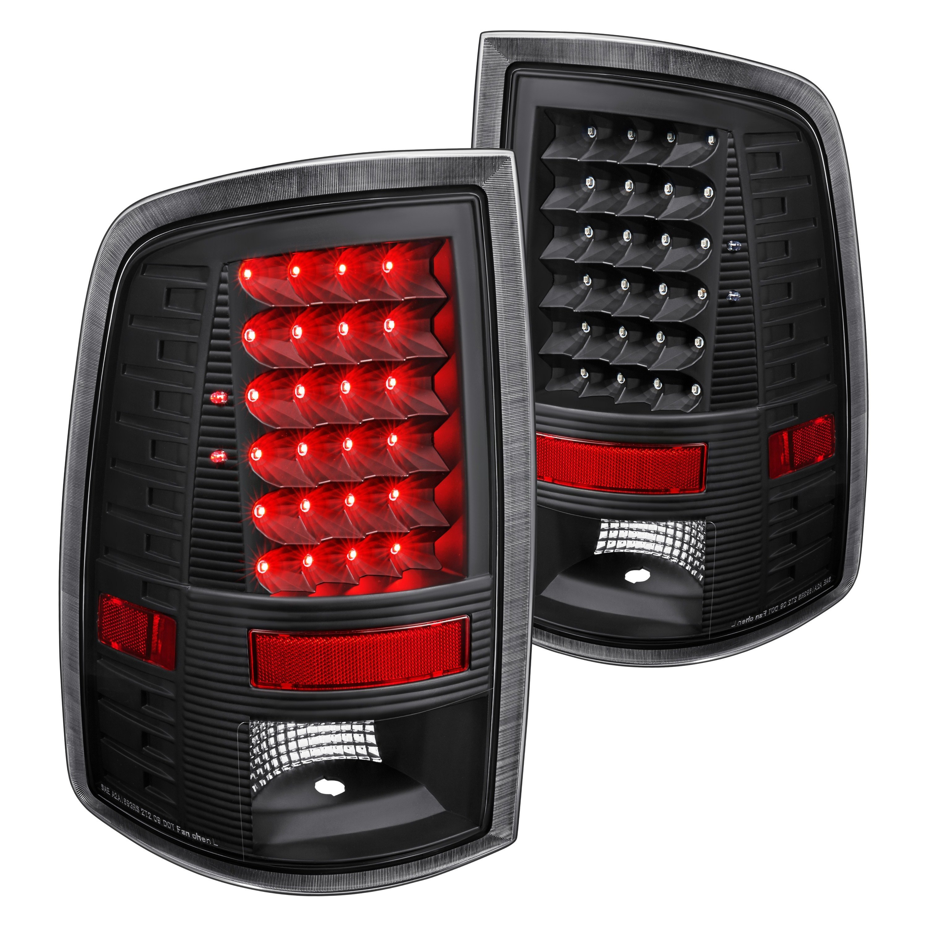 lumen ram 1500 2015 black led tail lights. Black Bedroom Furniture Sets. Home Design Ideas