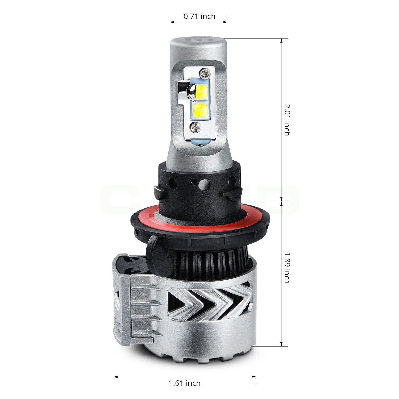Lumen H13xhlc G8 Led Conversion Kit H13 2009 Hhr Headlight Wiring Harness