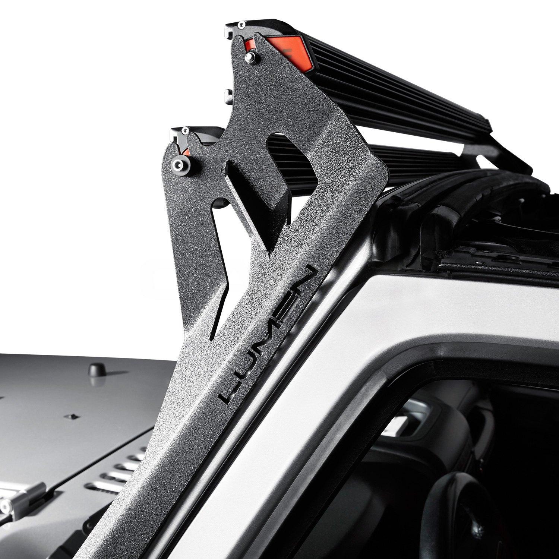 Lumen jkx2 mbr windshield frame dual 50 light bar mounts windshield frame dual 50 light bar mountslumen aloadofball Gallery