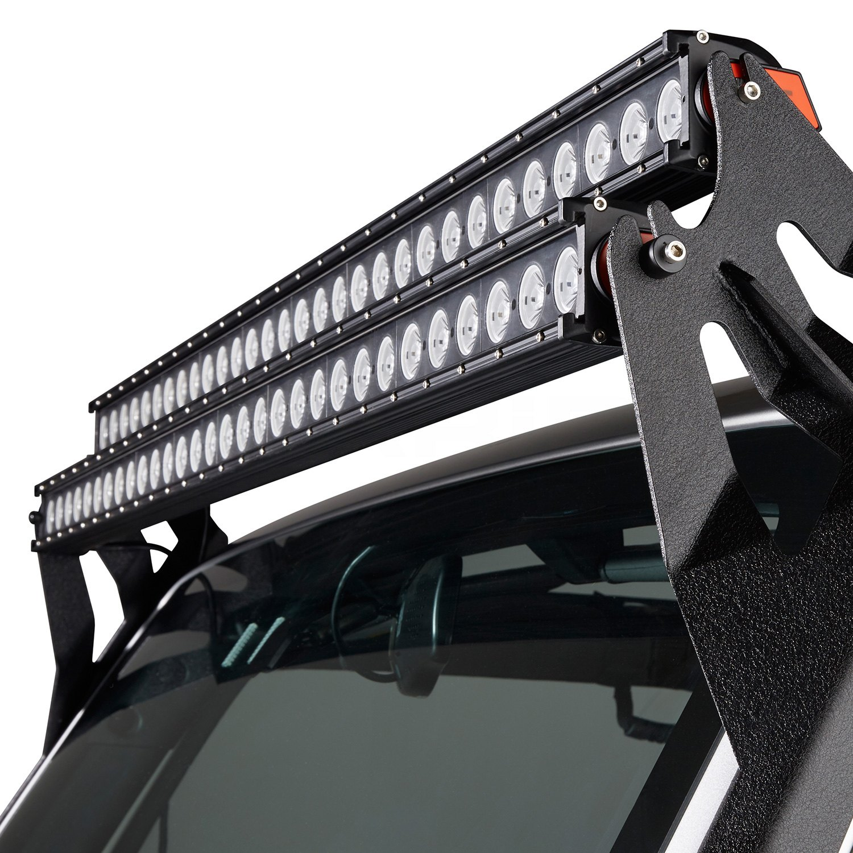 Single Row Led Light Bar >> Lumen® - Single Row LED Light Bar with Illuminated End Caps