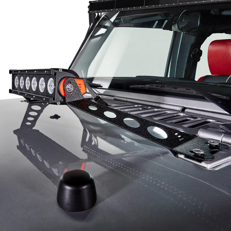 Lumen n160x 1 sp 10 60w single row spot beam led light bar with 10 60w single row spot beam led light bar with illuminated end aloadofball Choice Image