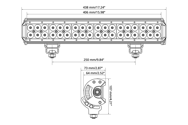 Lumen® - Dual Row LED Light Bar