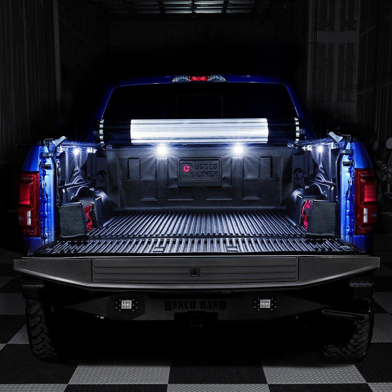 Lumen trb pod blk led truck bed lights