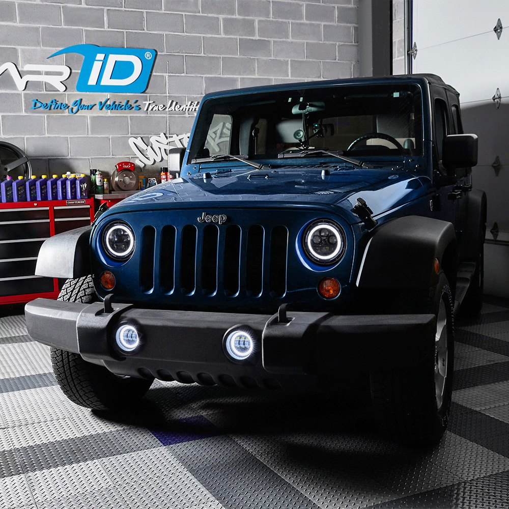 Jeep Wrangler Fog Lights >> Lumen Halo Projector Led Fog Lights