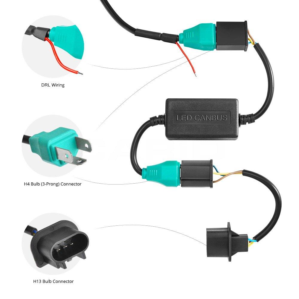 3 Prong Headlight Plug Diagram Projector Wiring Diagrams Western Star Trucks Unimount