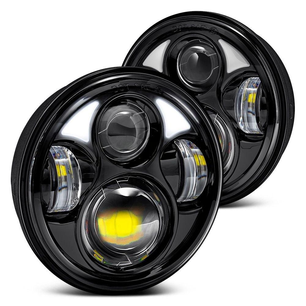 Srt 4 Led Headlight Bulbs Best 2005 2007 Jeep Grand