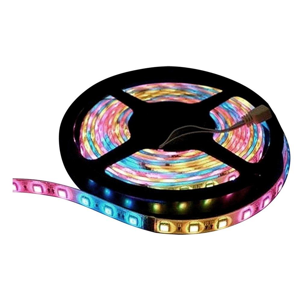 Lunasea Lighting RGB Flexible Strip LED 12V Red Green Blue